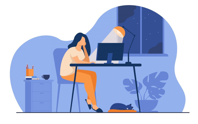 Влияние работы из дома на совместную работу сотрудников